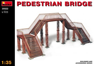 Пешеходный мост - 35522 MiniArt 1:35