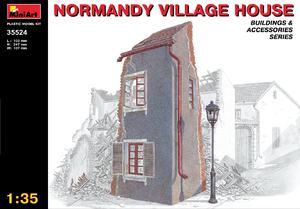 Нормандский деревенский дом - 35524 MiniArt 1:35