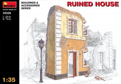Разрушенный дом - 35526 MiniArt 1:35
