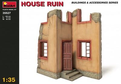 Руины дома - 35527 MiniArt 1:35