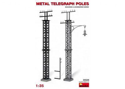 Металлические телеграфные столбы - 35529 MiniArt 1:35