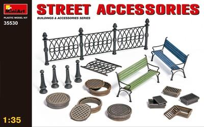 Уличные аксессуары - 35530 MiniArt 1:35
