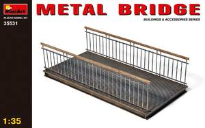 Металлический мост - 35531 MiniArt 1:35
