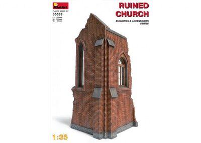 Руины церкви - 35533 MiniArt 1:35
