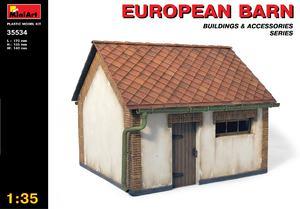 Европейский сарай - 35534 MiniArt 1:35