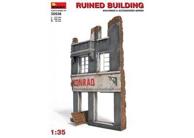 Разрушенное здание - 35536 MiniArt 1:35