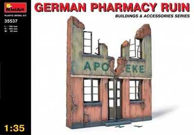 Руины немецкой аптеки - 35537 MiniArt 1:35
