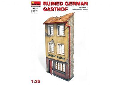 Разрушенный немецкий гостинный дом - 35538 MiniArt 1:35