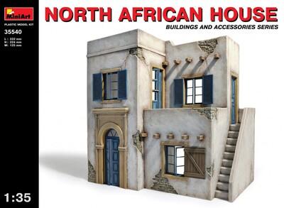 Северо-Африканский дом - 35540 MiniArt 1:35