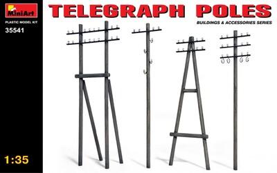 Телеграфные столбы - 35541 MiniArt 1:35