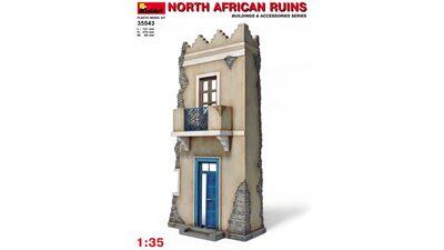 Северо-Африканский дом - 35543 MiniArt 1:35