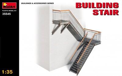 Лестница для зданий - 35545 MiniArt 1:35