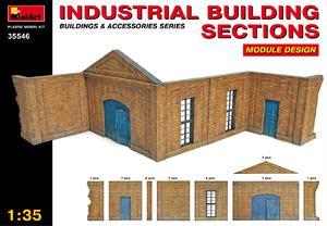 Секции промышленного здания - 35546 MiniArt 1:35