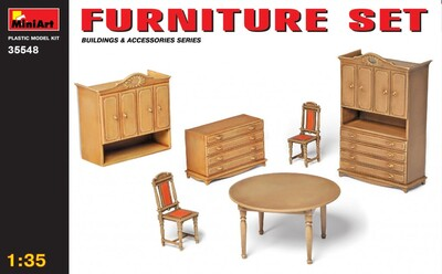 Набор мебели - 35548 MiniArt 1:35