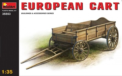 Европейская телега - 35553 MiniArt 1:35