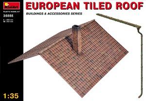 Европейская черепичная крыша - 35555 MiniArt 1:35