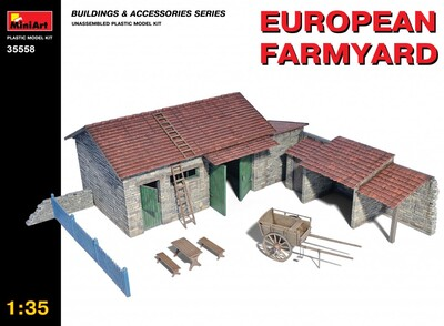 Европейская ферма - 35558 MiniArt 1:35