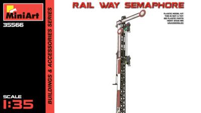 Железнодорожный семафор - 35566 MiniArt 1:35