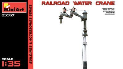 Железнодорожный водонапорный кран - 35567 MiniArt 1:35