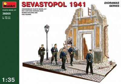 Севастополь 1941 диорама - 36005 MiniArt 1:35