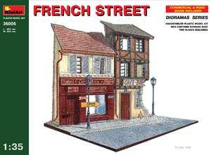 Французская улица - 36006 MiniArt 1:35