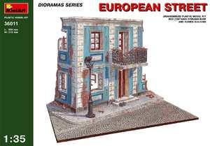 Европейская улица - 36011 MiniArt 1:35