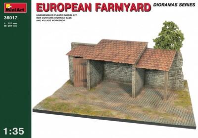 Европейская ферма - 36017 MiniArt 1:35