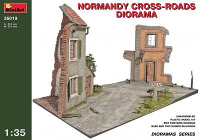 Нормадская диорама с перекрестком - 36019 MiniArt 1:35