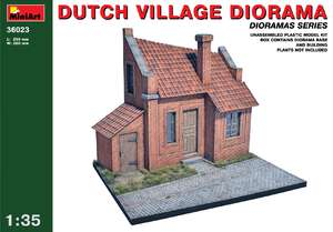 Диорама голландской деревни - 36023 MiniArt 1:35
