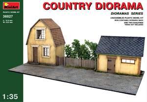 Деревенская диорама - 36027 MiniArt 1:35