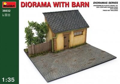 Диорама с забором фермы - 36033 MiniArt 1:35