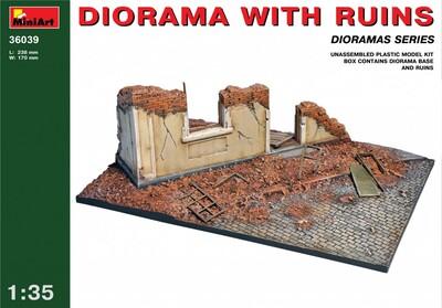 Диорама с руинами - 36039 MiniArt 1:35