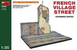 Французская деревенская улица - 36050 MiniArt 1:35