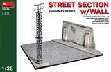 Фрагмент улицы со стеной - 36052 MiniArt 1:35