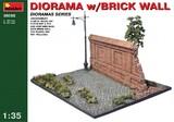 Диорама с кирпичной стеной - 36055 MiniArt 1:35