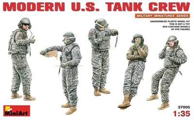Современнный американский танковый экипаж - 37005 MiniArt 1:35