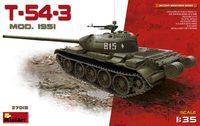 Т-54-3 средний танк обр. 1951 - 37015 Miniart 1:35