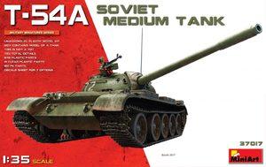 Т-54А средний танк - 37017 MiniArt 1:35