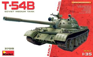 Т-54Б средний танк ранних серий - 37019 MiniArt 1:35