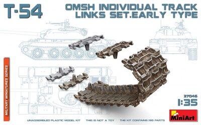 Т-54 траки раннего типа - 37046 MiniArt 1:35