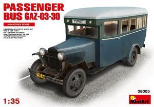 ГАЗ-03-30 Пассажирский автобус - 38005 MiniArt 1:35