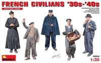 Немецкие гражданские 30x-40x годов - 38006 MiniArt 1:35