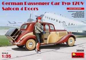 Тип 170V 4-дверный седан - 38008 MiniArt 1:35