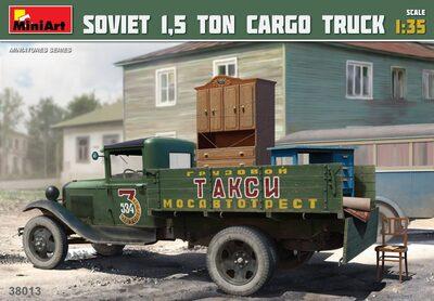 Советский полуторатонный грузовой автомобиль - 38013 MiniArt 1:35