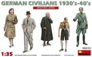 Гражданские немцы 1930-1940 - 38015 MiniArt 1:35