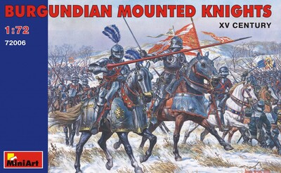 Бургундские конные рыцари XV век - 72006 MiniArt 1:72