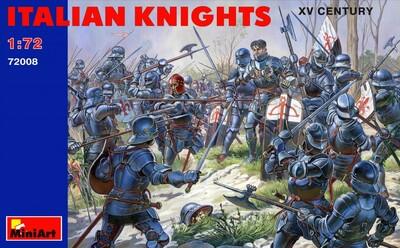Итальянские рыцари XV век - 72008 MiniArt 1:72