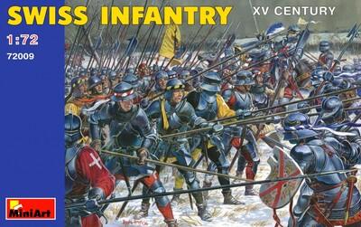 Швейцарская пехота XV век - 72009 MiniArt 1:72
