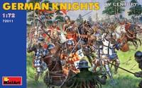Немецкие рыцари XV век. 72011 MiniArt 1:72