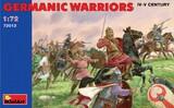 Немецкие воины IV-V век - 72013 MiniArt 1:72